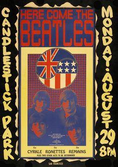 Beatles Candlestick Park 1966