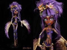 Monster High Ooak customisation repaint Maua in Jouets et jeux, Poupées, vêtements, access., Poupées mannequins, mini | eBay