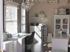 My studio by Jodii. Beautiful space to create!!!