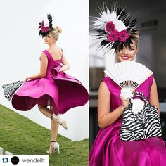 #Repost @wendellt Courtney Busby(wears Jeni B from Cairns millinery) at Myer Fashions on the Field during Jeep Magic Millions Race Day on the Gold Coast. #myerfotf #magicmillions #fashion #racingfashion #summerfashion #dress #style #millinery #nikon #ZEDUCE by racingfashion