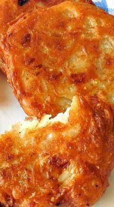 Amish Onion Patties - a delicious alternative to onion rings! ❊
