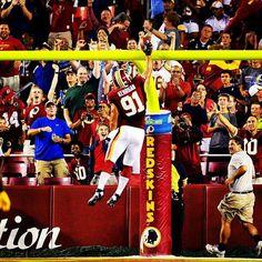 Redskins over Pittsburgh, week 2 of the pre-season