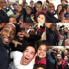 Sending #PositiveVibes from #ChaseMiddleSchool in #TopekaKansas Yes. That's a teacher!