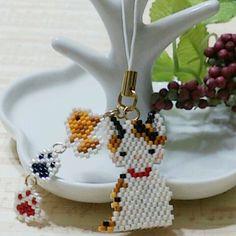 Seed Bead Projects, Diy Jewelry Projects, Peyote Patterns, Beading Patterns, Beaded Crafts, Beaded Animals, Bead Jewellery, Bijoux Diy, Brick Stitch