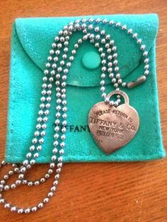 Authentic Tiffany And Co. Pendant Necklace! - $79