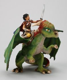 Look at this #zulilyfind! Kishay & Dragon Figurine Set by Schleich #zulilyfinds