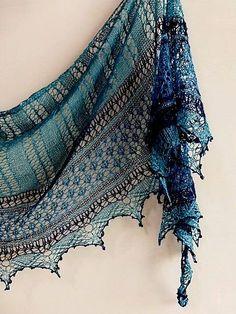 Crochet lace scarf beautiful knitting patterns New ideas Crochet Lace Scarf, Gilet Crochet, Knitted Shawls, Knit Or Crochet, Crochet Scarves, Crochet Clothes, Lace Shawls, Scarf Knit, Crochet Stitches
