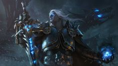 Rise of the Lich King, Sergey Samarskiy on ArtStation at https://www.artstation.com/artwork/rise-of-the-lich-king-80ebe945-89a7-4dbe-94f5-c81cd5ac3809