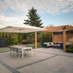 Gallery of Retractable Shade - Vaughan - 5 Steel Pergola, Wood Pergola, Pergola Canopy, Outdoor Pergola, Pergola Shade, Backyard Pergola, Patio Roof, Pergola Kits, Pergola Ideas