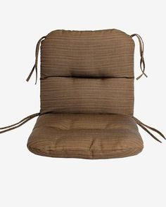Sunbrella Outdoor Chair Cushion By By Comfort Classics Inc In Dupione  Walnut ** Click The