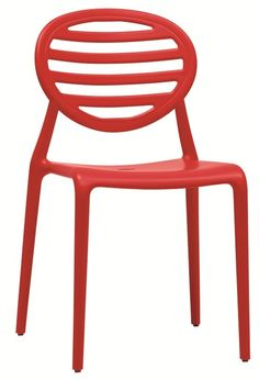 Top Gio Stoel - SCAB - rood
