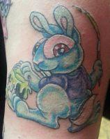 TATTOO: Pinstriper Bunny by briescha