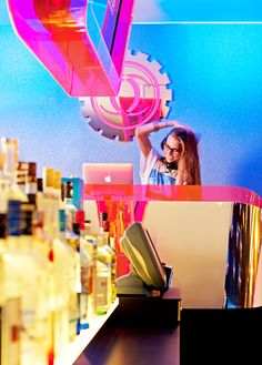 Overtime, Chuck's Manufacturing's own version of happy hour, features live DJs, a 10'-6' video wall and the extensive Flavor Factory vodka bar, complete with over 100 vodka flavors and an imaginative specialty cocktail menu.