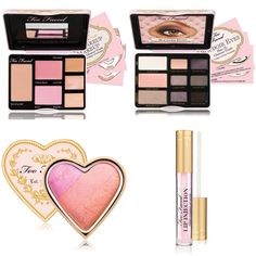 Too Faced Spring 2013 Boudoir Beauty Collection. that blush is sooo pretty! On my wish list