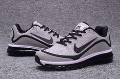 official photos 561d0 82f23 Zero Defect Nike Air Max 2017 KPU Light Grey Black Men s Running Shoes  Sneakers 898013 120