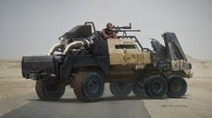 Apocalyptic armored truck, so cool!!!