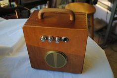 Cigar Box Amplifier Acid Rain