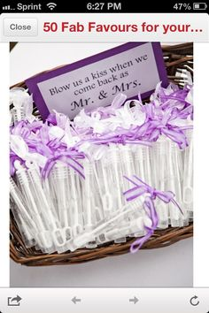 Im going to do this..............  Unique Wedding favors and wedding ideas    #WeddingFavors #Wedding Ideas