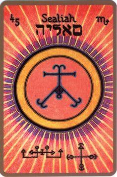 SEALIAH, L'érudit ange gardien entre 3 au 7 novembre Nom divin : HOBO Il est le 45eme ange et le 5eme appartenant au 6eme chœur « Le chœur des Vertus Célestes ». Il est sous les ordres de l'Archang…