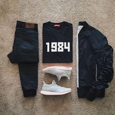 Mens Fashion Trends For 2018 - Top Fashion For Men Komplette Outfits, Casual Outfits, Fashion Outfits, Fashion Ideas, Fashion Inspiration, Fashion Mode, Mens Fashion, Style Fashion, Fashion Check