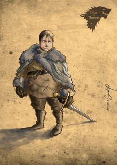 Samwell Tarly - Game of Thrones