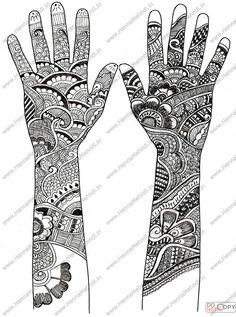 Toutes les tailles | henna-mehndi-designs7 | Flickr : partage de photos !