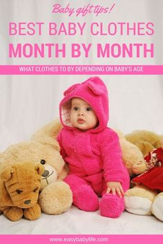 Baby clothing tips | Baby clothes | Baby clothing gifts | Best clothes for baby by months