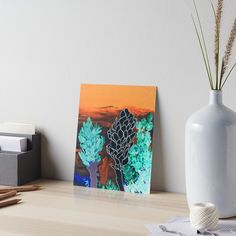 12 Days of Promos: Day 3. Save 25% on Art Boards with code DAYTHREE by @ANoelleJay @redbubble »  Midnight in the tropical desert! / 2000 views as of 11/1/2017 / acrylic painting 16×20in / Featured in: / Super / Artistic flowers / Also buy this artwork on wall prints, apparel, stickers, and more.