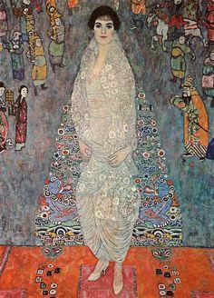 Gustav Klimt, portret van Elisabeth Bachofen-Echt (1989),  de dochter van Augustus en Serena Lederer, Klimt's belangrijkste mecenassen.   De collectie van de familie groeide uiteindelijk uit tot een vijftiental doeken van Klimt  waaronder een portret van Serena en een schilderij (1915) van haar moeder, Charlotte Pulitzer, directe familie Joseph Pulitzer, oprichter van de beroemde  Pulitzer Price.