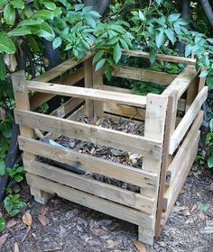 potager sur lev fabriqu avec des palettes en bois pinteres. Black Bedroom Furniture Sets. Home Design Ideas