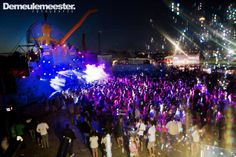 Openair stage by night ( Banners design )