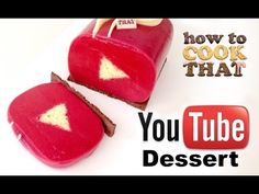 YouTube cake goes so deliciously well with YouTube video watching
