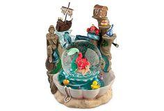 Little Mermaid Snow Globe