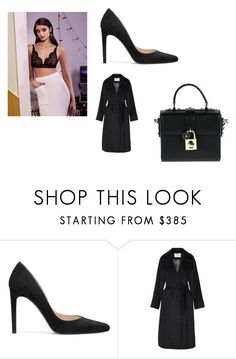 """Untitled #1837"" by alessiaaaaaaaaa ❤ liked on Polyvore featuring Stuart Weitzman, MaxMara and Dolce&Gabbana"