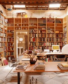 Best home offcie in the world - bookshelves in Arizona