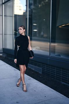 Alexander Wang dress (old, similar here + here) Fashion Poses, Fashion Outfits, Womens Fashion, Alexander Wang, Stuart Weitzman, Minimal Look, Glam Dresses, Street Style Looks, Night Outfits