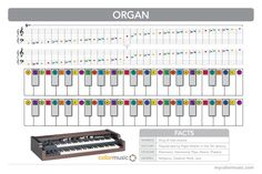 How to play the organ in ColorMusic.