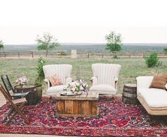 Post ceremony outdoor area, add standing area as well