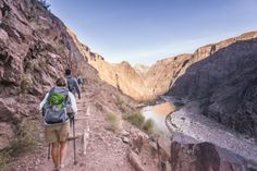 PHOTOS: The full #GrandCanyon experience from rim to river (and back out again)...