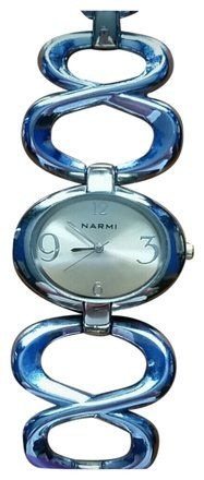 This is a very nice Narmi gold ladies watch with an unusual band 51% Off #7124671 - Jewelry