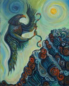 Quetzalcoatl by Alejandro Flores