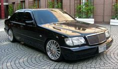 I want all 3 of these cars in the next few series! This is the Mercedes S Class W140 Jason Statham drove in Transporter 2.