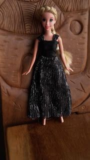 Robe de soirées pour poupées type Barbie