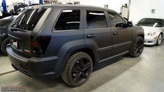 Matte Black Paint Black Rims Dark Tail lights