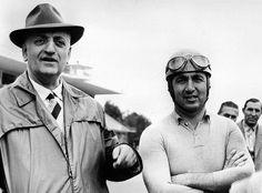 Enzo Ferrari & Alberto Ascari au Grand Prix d'Italie à Monza en 1953 - F1 History & Legends.