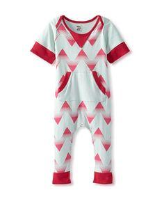 72% OFF Lake Park Kids Baby Romper (Pink Chevron) #apparel #Kids