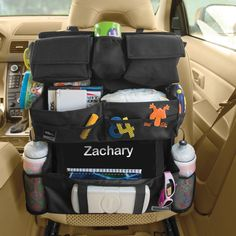 By far the BEST Backseat Entertainment Car Organizer Ive ever had. A must-have for frequent road trippers, like me!