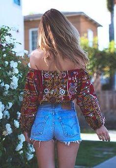 Stylish bohemian boho chic outfits style ideas 85