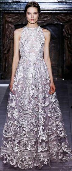 Valentino - Haute Couture Spring 2013 gray