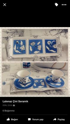 Çini Ottoman, Glaze Recipe, Tea Pots, Tiles, Plates, Tableware, Artwork, Pattern, Painting